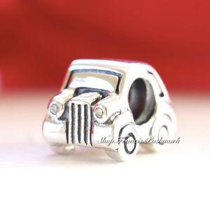 Pandora Sterling Silver Charm Car Bead 790405CZ